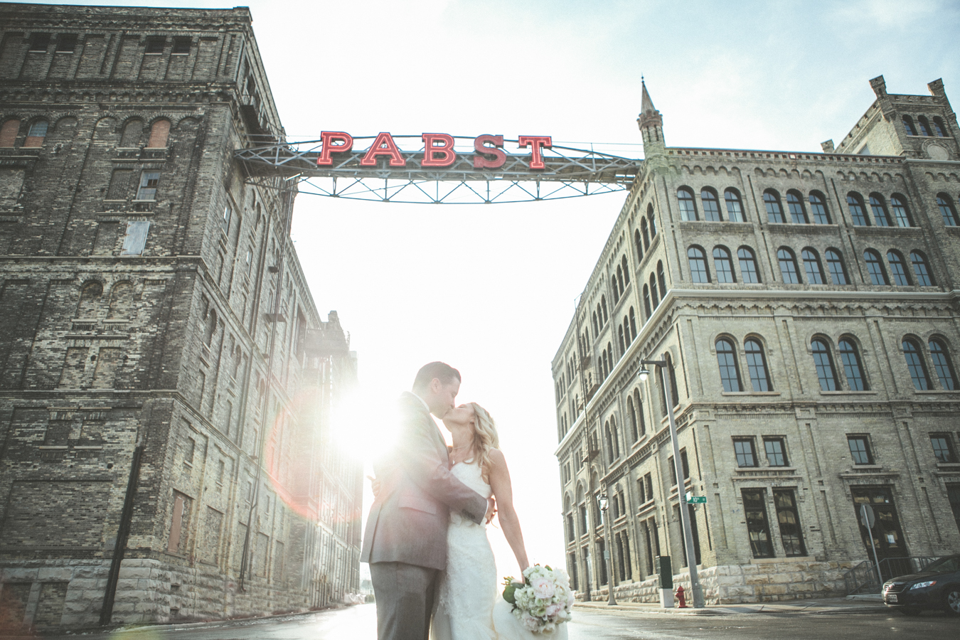 The best place pabst brewery milwaukee wedding megan for The best place for wedding