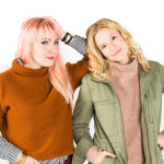 two girls one kit, with madewell!