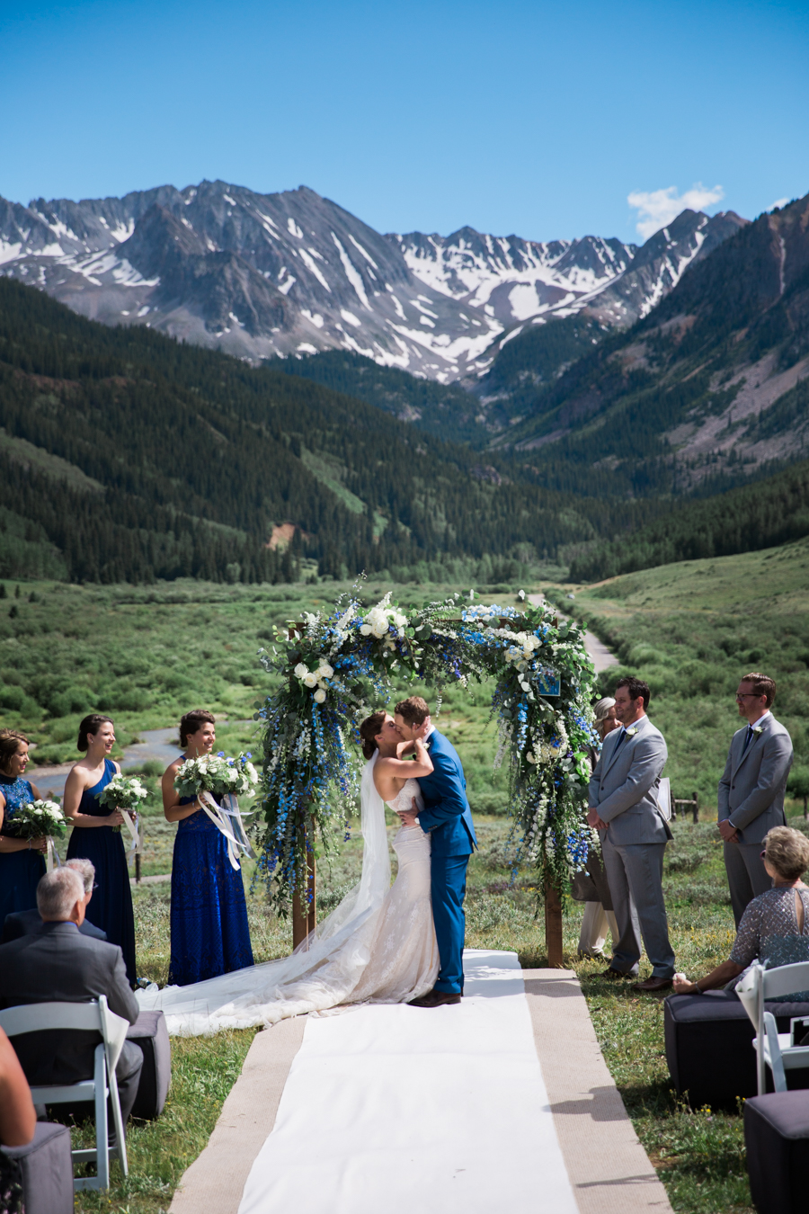 Colorado aspen wedding
