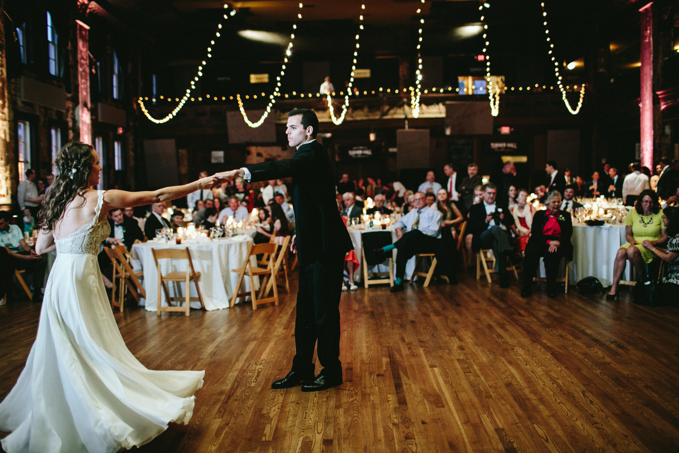 A Custom Wedding Dress Musical Family And Stunning Historic Ballroom In Downtown Milwaukee This Is One You Don T Wanna Miss